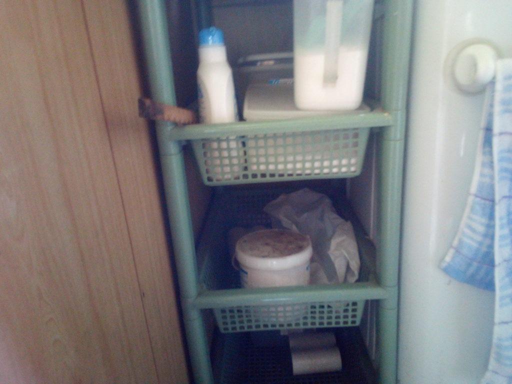 洗濯洗剤のストック
