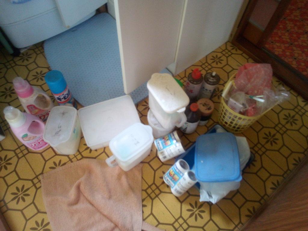 洗剤のストック