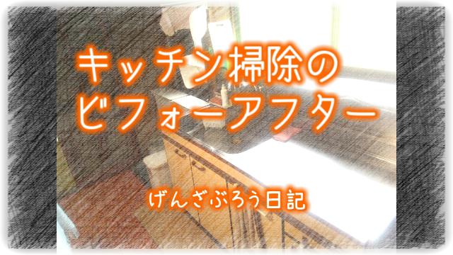 掃除後のキッチンOP