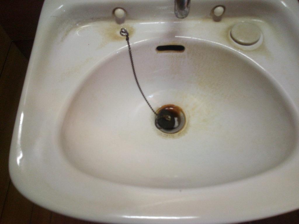 手洗い水垢2