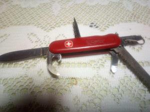 ウェンガーナイフ