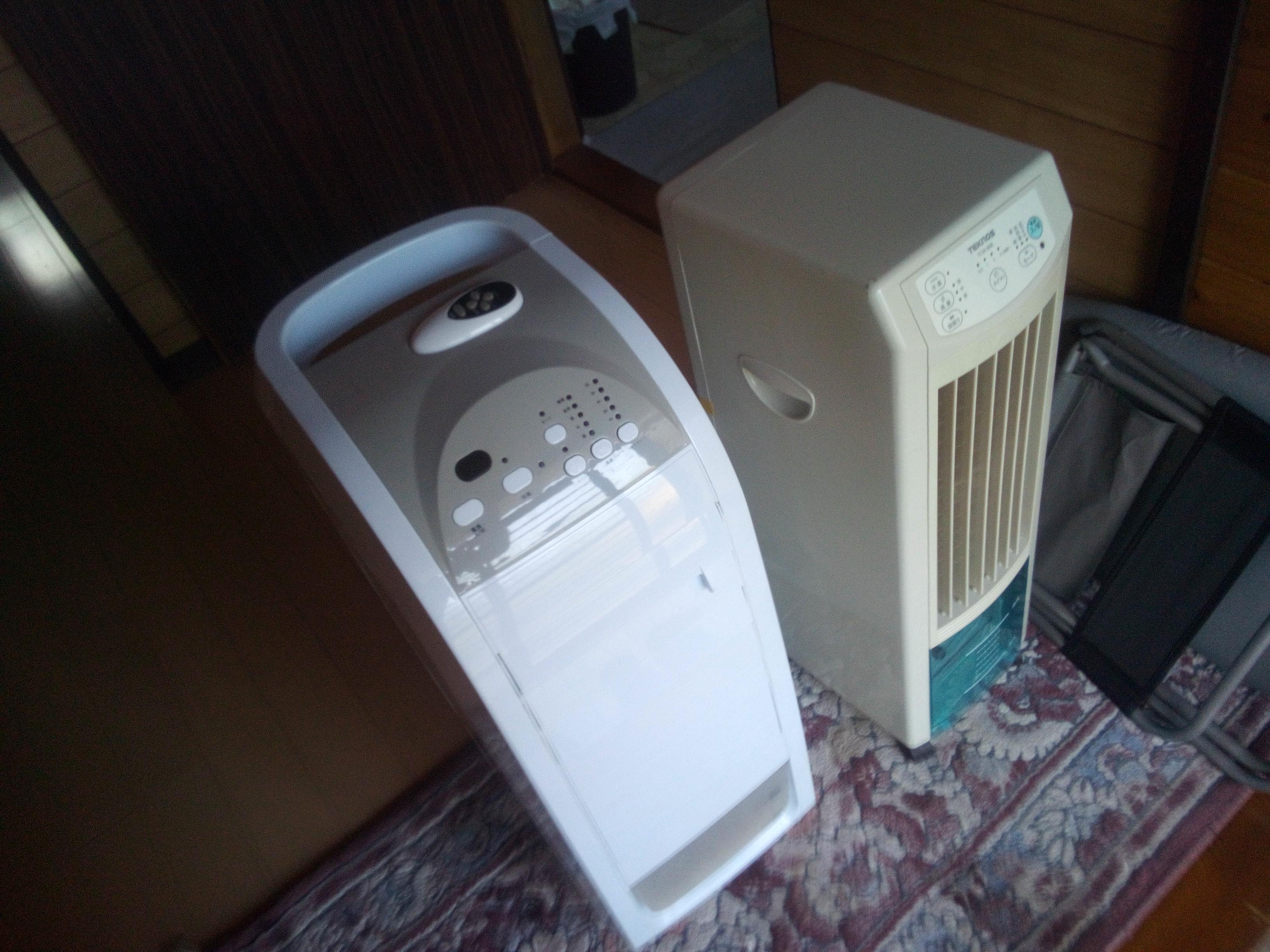 冷風扇2台