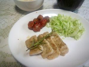 肉とローズマリー